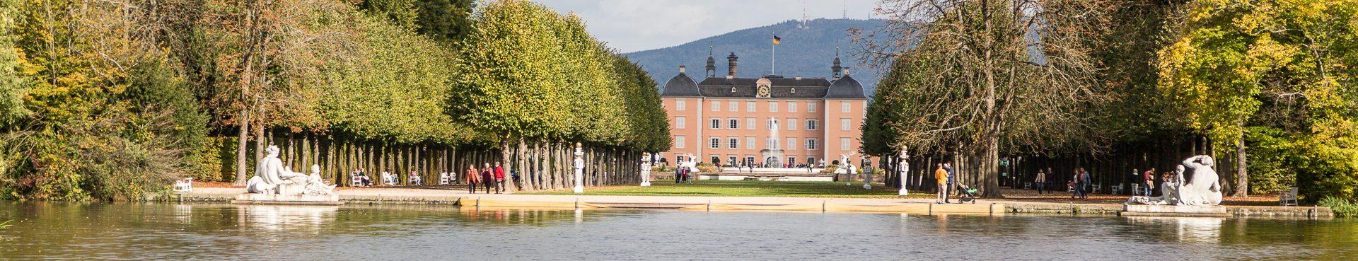 Oktober im Schlossgarten Schwetzingen
