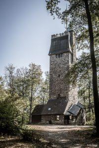 Der 1907 erbaute Kaiserturm auf der Neunkircher Höhe
