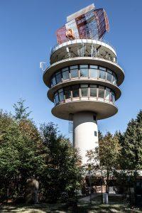 Radarantenne der Deutschen Flugsicherung auf der Neunkircher Höhe