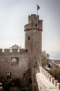 Südturm des Auerbacher Schlosses