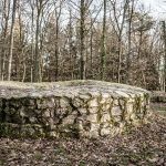 Reste des Turmes der Burgruine Schnellerts
