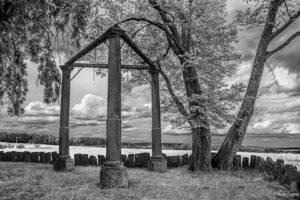 Der Beerfelder Galgen - Kulturdenkmal bei Beerfelden (Oberzent) im Odenwald